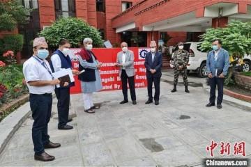 中资企业向尼泊尔捐赠200台制氧机已运抵加德满都